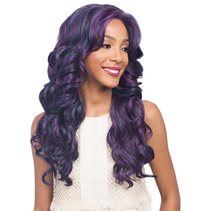 BOBBI BOSS SWISS LACE FRONT WIG MLF199 BLACK PEARL - Beauty Krew