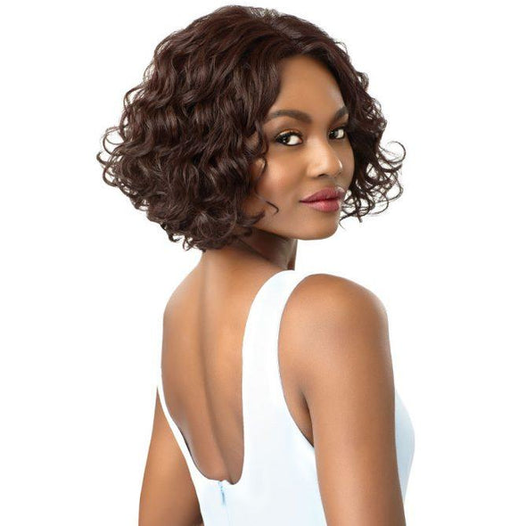 OUTRE SYNTHETIC HAIR LACE FRONT WIG SWISS LACE I PART VEDA - Beauty Krew