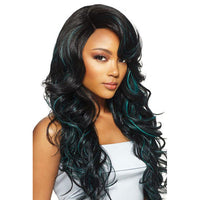 OUTRE SYNTHETIC HAIR LACE FRONT WIG SWISS LACE L PART HERA - Beauty Krew