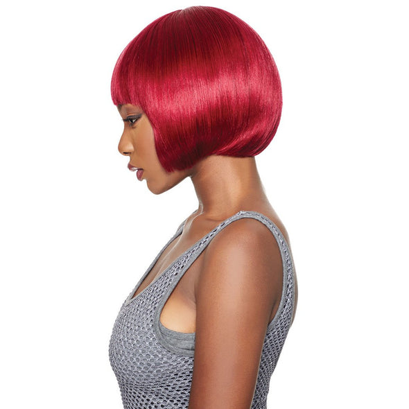 Outre 100% Human Hair Duby Wig - Blunt Bang - Beauty Krew
