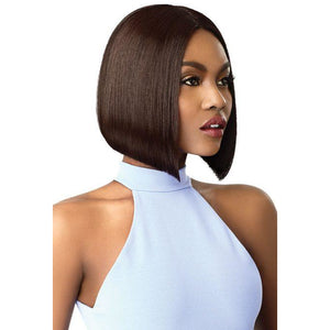 OUTRE SYNTHETIC HAIR LACE FRONT WIG SWISS LACE I PART AMA - Beauty Krew