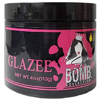 She Is Bomb Collection Glazee for Edges, Braids, and Twist Outs 4oz - Beauty Krew