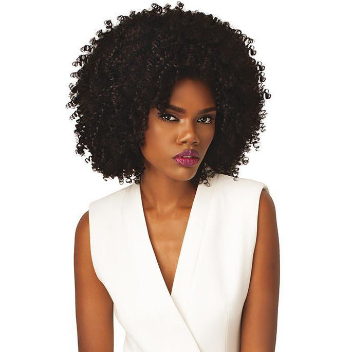Outre Synthetic Half Wig Quick Weave Big Beautiful Hair 4a Kinky - Beauty Krew