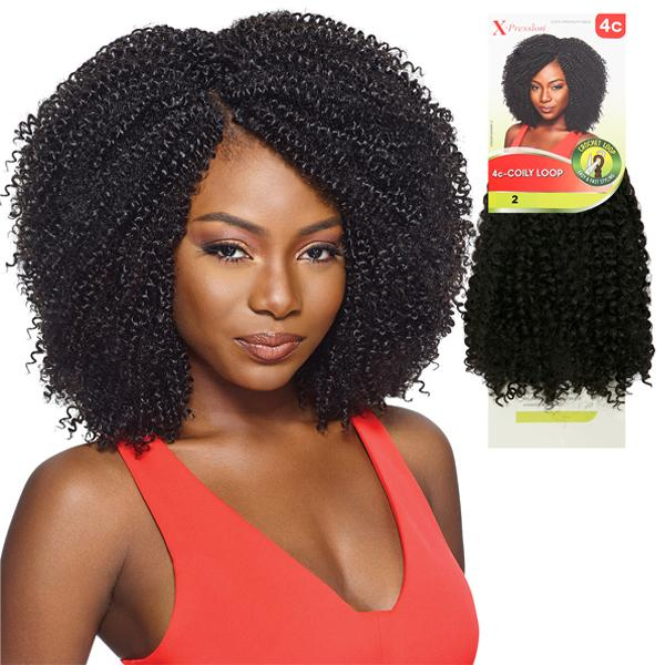 OUTRE X-PRESSION CROCHET BRAID - 4C COILY LOOP - Beauty Krew