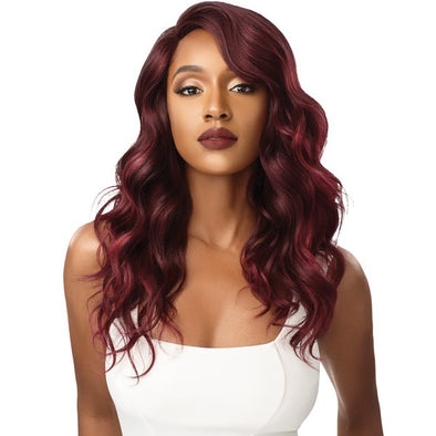 Outre Synthetic L-Part Swiss Lace Front Wig - AMIYAH - Beauty Krew