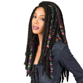 "BOBBI BOSS SYNTHETIC HAIR CROCHET BRAIDS AFRICAN ROOTS BRAID COLLECTION BAE LOCS 20"" - Beauty Krew"