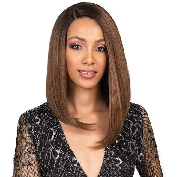BOBBI BOSS SYNTHETIC HAIR PREMIUM LACE FRONT WIG MLF306 CHYNA - Beauty Krew