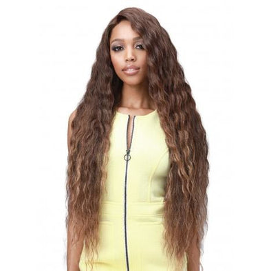 Bobbi Boss Synthetic Glueless 13 x 7 Lace Frontal Wig - MBLF003 Eliza