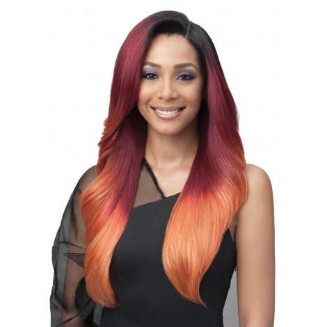 Bobbi Boss Synthetic Glueless 13 x 7 Lace Frontal Wig - MBLF001 Alivia - Beauty Krew