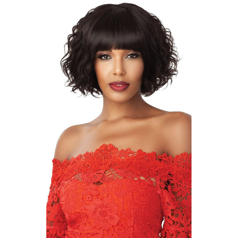 Outre Fab & Fly 100% Unprocessed Human Hair Wig - HH- Betsy - Beauty Krew