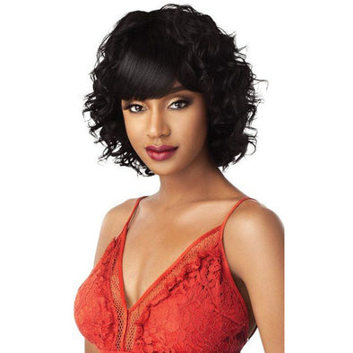 Outre Fab & Fly Human Hair Full Wig - Selma - Beauty Krew
