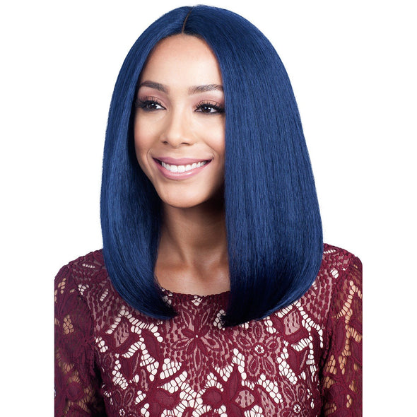 BOBBI BOSS HUMAN BLEND SWISS LACE LACEFRONT WIG MBLF90 JUBA - Beauty Krew