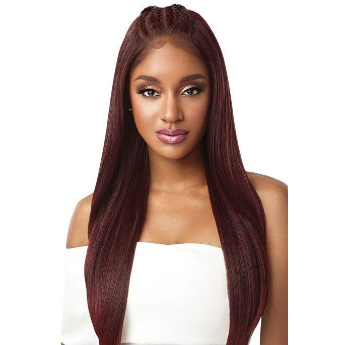 Outre Perfect Hairline 13x6 Pre-Braided Lace Front Wig Iman - Beauty Krew