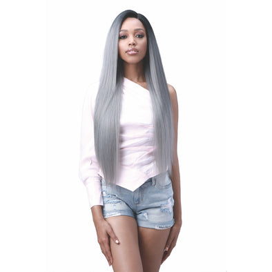 "Bobbi Boss Miss Origin Hand Tied 13x6 Human Hair Blend Lace Frontal Wig-Natural Straight 32""  (MOGLWST32) - Beauty Krew"