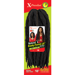 "Outre X-Pression Natural Kinky Twist 18"" - Beauty Krew"