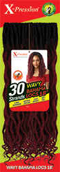 Outre Xpression Straight Bahama Locs - 30 Strands - Beauty Krew