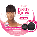 Outre Pretty Quick Bang - Classic Blunt Bang - Beauty Krew