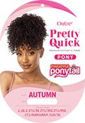 Outre Pretty Quick Pineapple Pony - Autumn - Beauty Krew