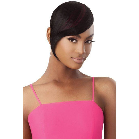 Outre Pretty Quick Bang - Sleek Swooped Bang - Beauty Krew