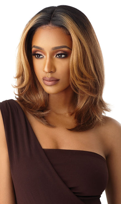 Outre Synthetic Lacefront Neesha Soft & Natural - Neesha 201 - Beauty Krew