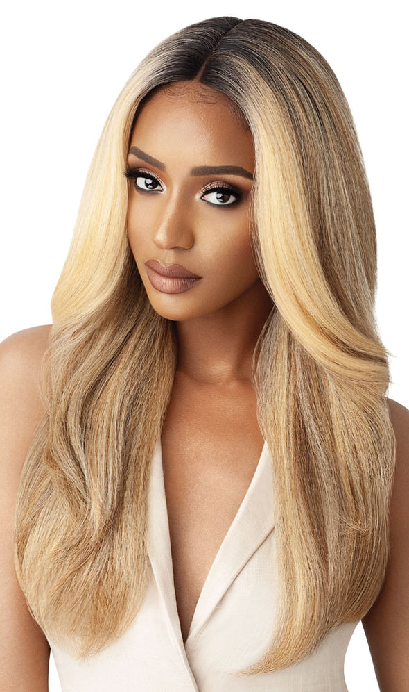 Outre Synthetic Lace Front Wig Neesha Soft & Natural - Neesha 203 - Beauty Krew