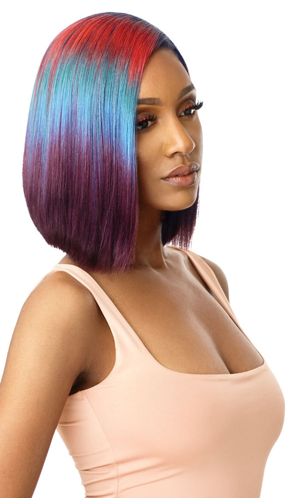 Outre Color Bomb Series Synthetic Lace Front Wig - Kiely - Beauty Krew