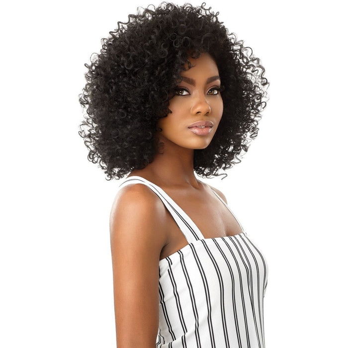 Outre Big Beautiful Hair Half Wig - 3A Passion Curl - Beauty Krew