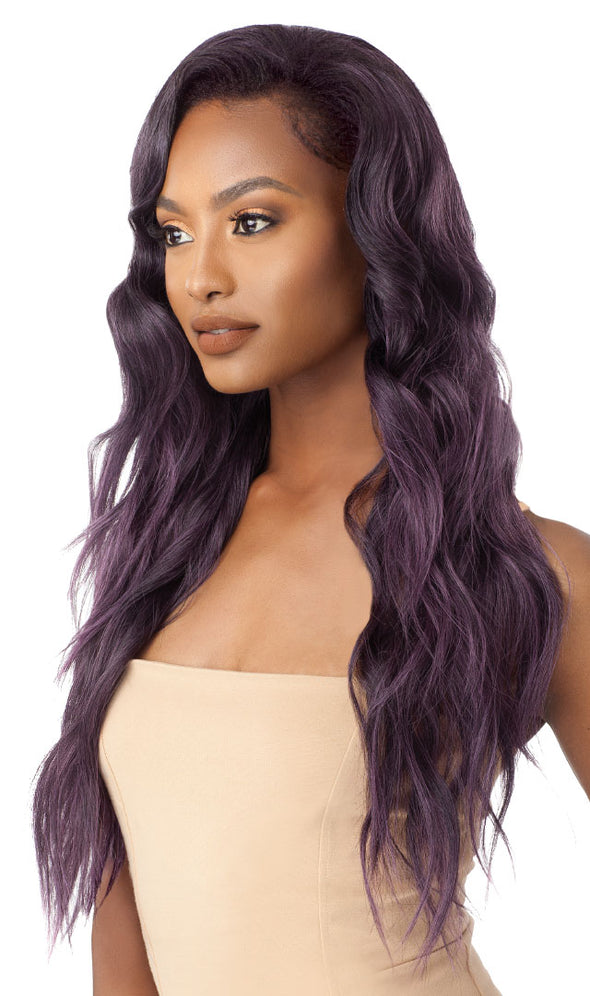 Outre Quick Weave Synthetic Half Wig-   Jazzy - Beauty Krew