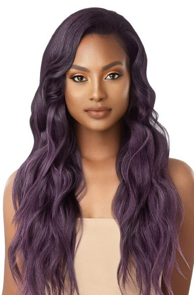 Outre Quick Weave Synthetic Half Wig-   Jazzy