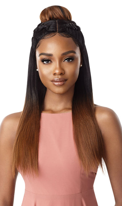 Outre Synthetic Swiss X Lace Front Wig - Tavia Yaki - Beauty Krew