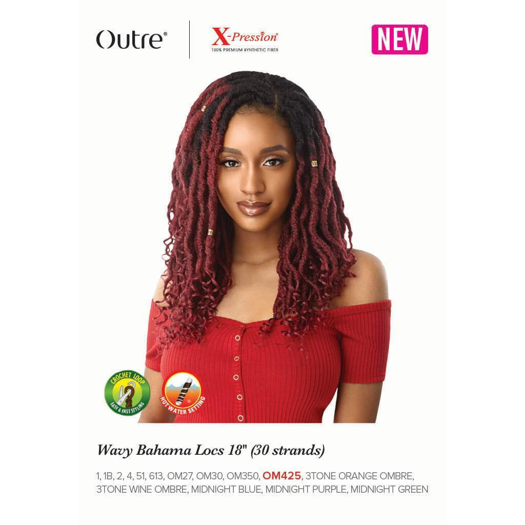 Outre Xpression Wavy Bahama Locs - 30 Strands - Beauty Krew