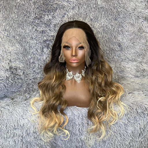 Enveme Luxury Synthetic Lace Front Unit - Brandy - Beauty Krew
