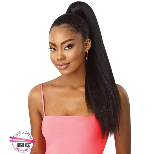"Outre Pretty Quick pony Kinky Straight 24"" - Beauty Krew"