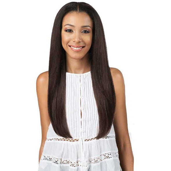 Bobbi Boss Human Hair Blended Swiss Lace Front Wig MBLF20 ZIA - Beauty Krew