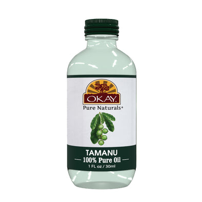 Okay Pure Naturals- Tamanu Oil 100% Pure Oil- Silicone and Paraben Free-1oz Made in USA - Beauty Krew