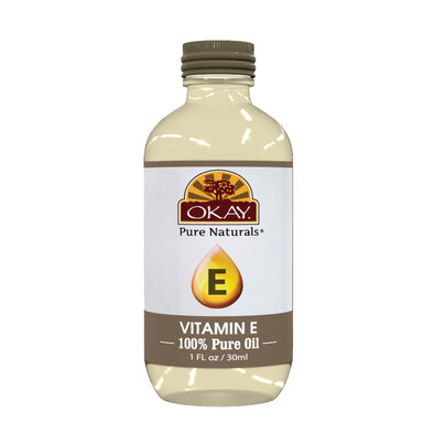 Okay Pure Naturals- Vitamin E Oil 100% Pure Oil- Silicone and Paraben Free-1oz Made in USA