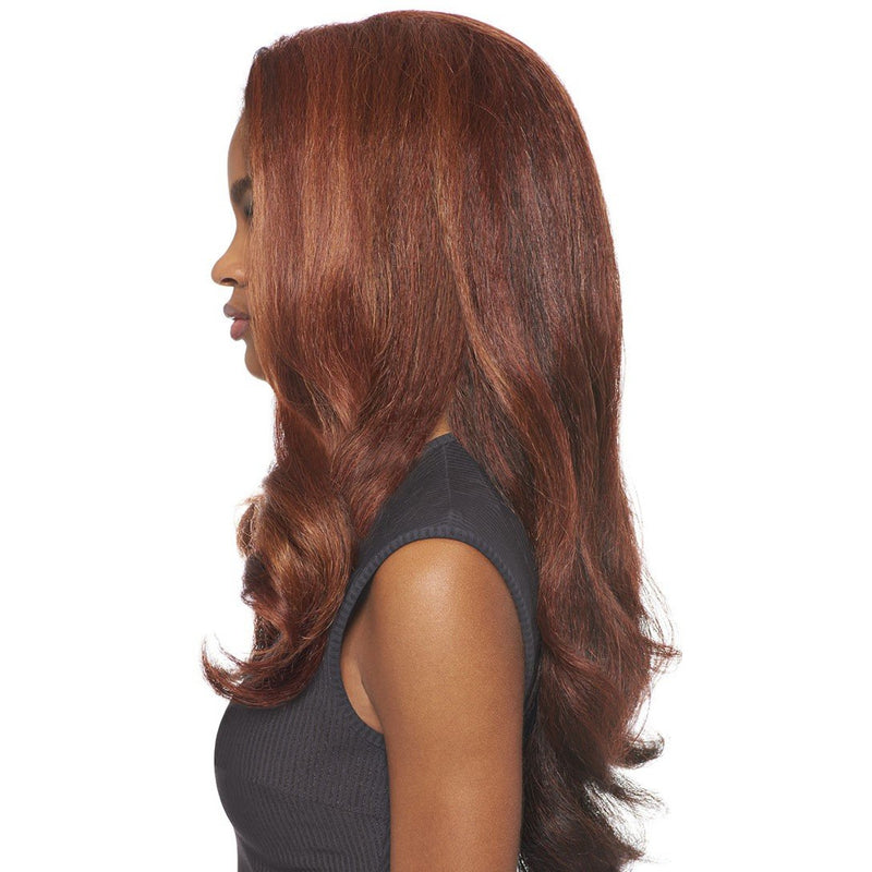 OUTRE SYNTHETIC HAIR HALF WIG QUICK WEAVE BATIK DOMINICAN BLOW OUT RELAXED - Beauty Krew