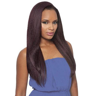 OUTRE SYNTHETIC HAIR HALF WIG QUICK WEAVE BATIK DOMINICAN BLOW OUT STRAIGHT - Beauty Krew