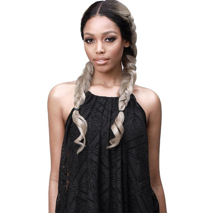 Bobbi Boss Human Hair Blend Lace Front Wig MBLF230 Sana - Beauty Krew