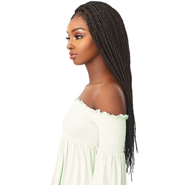 SENSATIONNEL CLOUD9 4X4 PART SWISS LACE WIG BOX BRAID LARGE - Beauty Krew