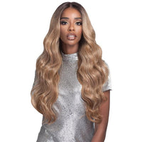 Bobbi Boss Human Hair Blend 13x4 Swiss Lace Front Wig MBLF180 Carmela - Beauty Krew