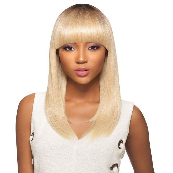 OUTRE &PLAY HUMAN HAIR PREMIUM BLEND WIG EFFIE - Beauty Krew
