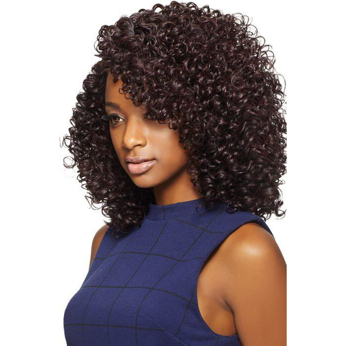 OUTRE SYNTHETIC HAIR QUICK WEAVE COMPLETE CAP DEEP PART JOJO - Beauty Krew
