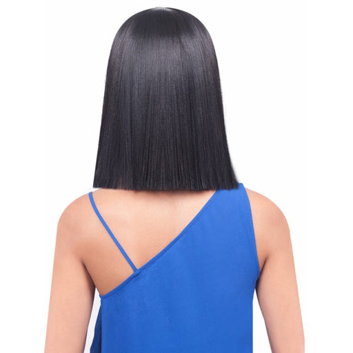 BOBBI BOSS SYNTHETIC HAIR LACE FRONT WIG MLF184 YARA BANG - Beauty Krew