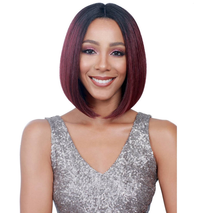BOBBI BOSS SYNTHETIC LACE FRONT WIG MLF138 SWISS LACE APRIL - Beauty Krew