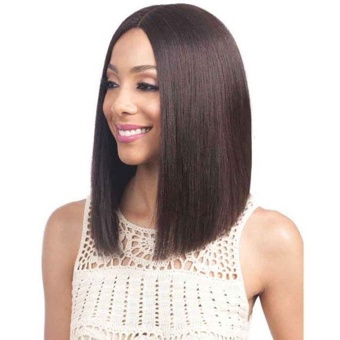 "BOBBI BOSS 100% HUMAN HAIR 5"" DEEP PART LACE FRONT WIG MHLF900 BINARA - Beauty Krew"