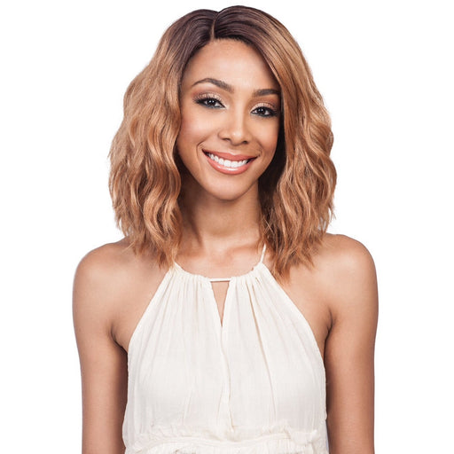 BOBBI BOSS SYNTHETIC LACE FRONT WIG MLF194 SWISS LACE C PART GABI - Beauty Krew