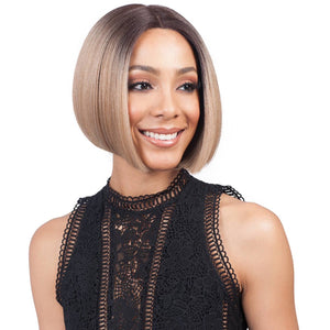 BOBBI BOSS SYNTHETIC HAIR LACE FRONT WIG MLF126 SWISS LACE LYNA - Beauty Krew