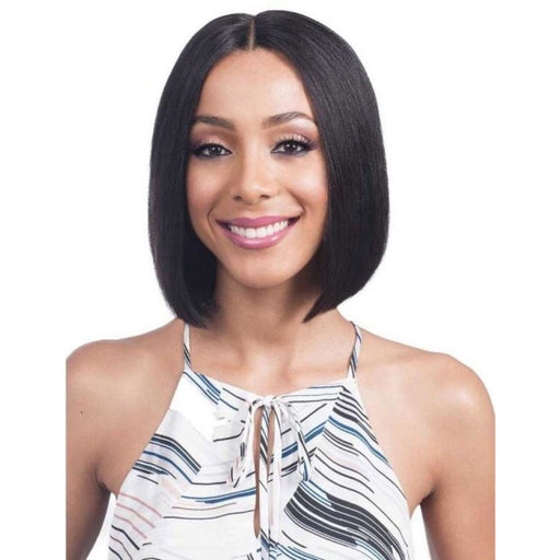"BOBBI BOSS 100% HUMAN HAIR 5"" DEEP PART LACE FRONT WIG MHLF800 EMA - Beauty Krew"