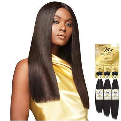 Outre Mytresses Gold Label 100% Unprocessed Human Hair Weave Natural Straight 10-22 inch - Beauty Krew
